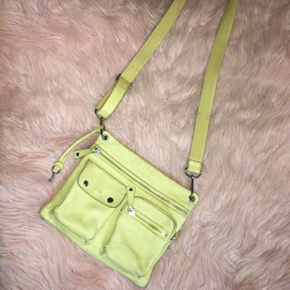 Fossil Handbags - 🔑Fossil ~ Yellow Leather Crossbody